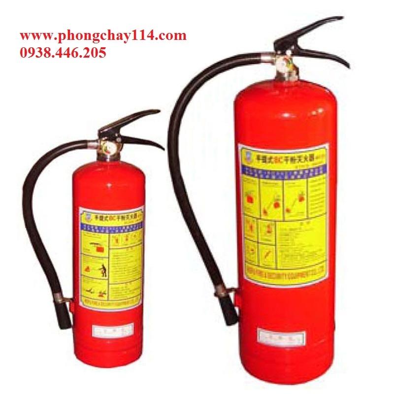 Bảo Trì bình chữa cháy bột BC ,ABC,khí co2