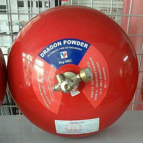 Bình cầu tự động Dragon bột BC/ABC XZFTBL6 6kg