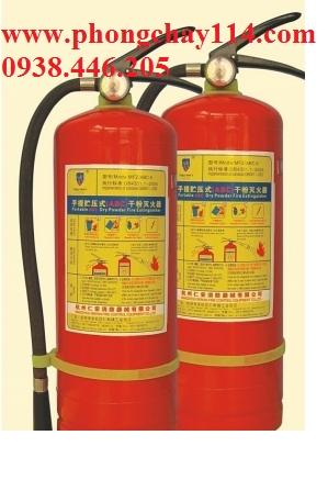 Bình chữa cháy bột ABC 8kg - MFZL8