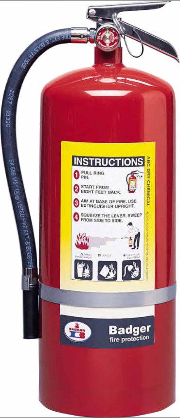 Bình chữa cháy bột ABC Badger Mỹ