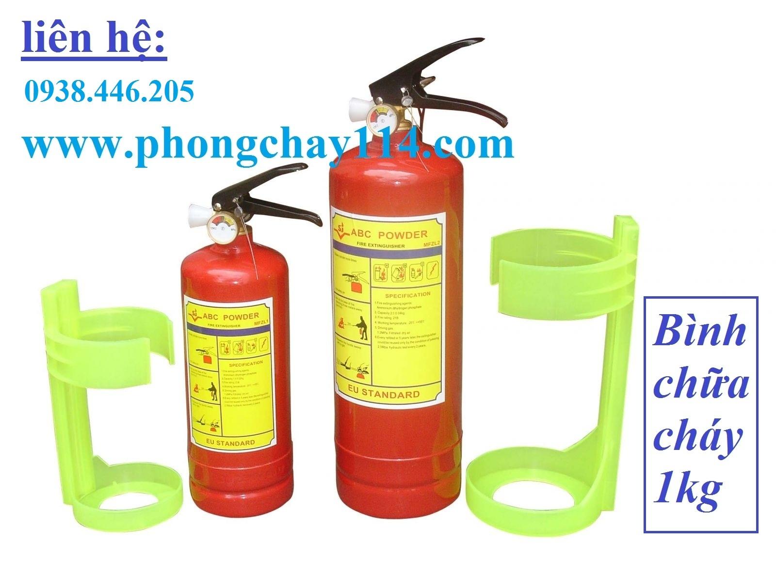 Bình chữa cháy bột BC 1kg MFZ1