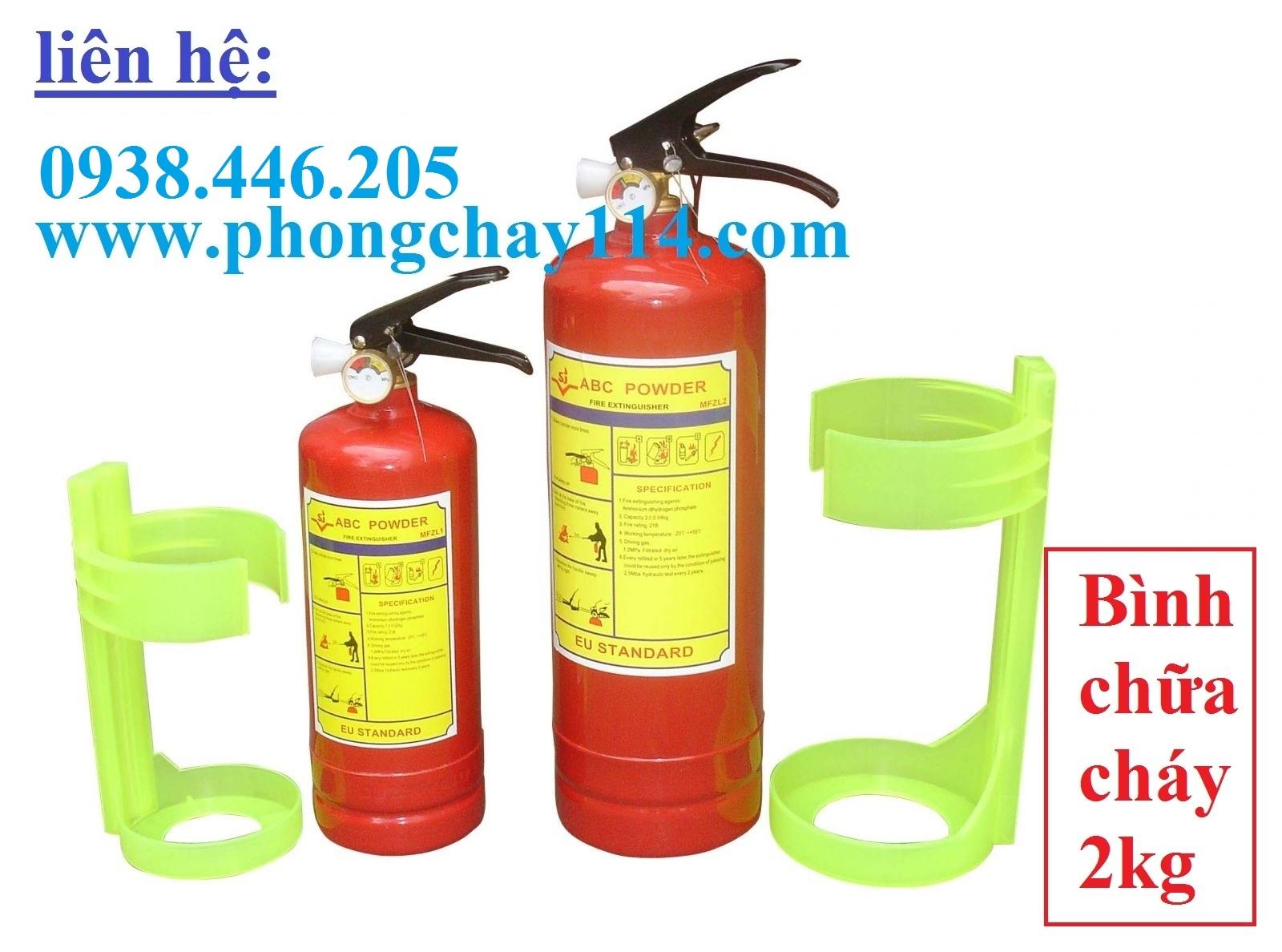 Bình chữa cháy bột BC MFZ2-2kg