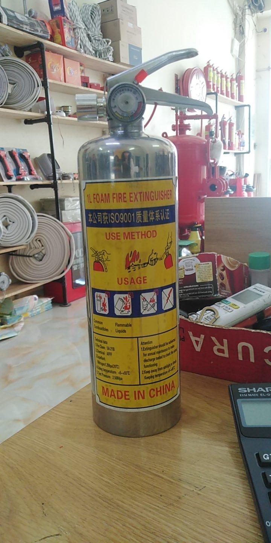 Bình chữa cháy bọt foam inox 1L/2L