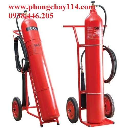 Bình chữa cháy tự động co2 45kg/68 lít