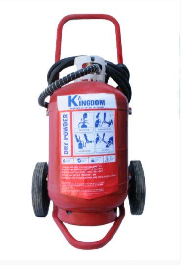 Bình chữa cháy xe đẩy Kingdom bột ABC 35Kg MFTZL35