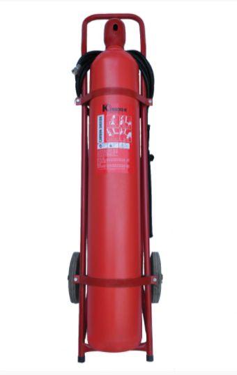 Bình chữa cháy xe đẩy Kingdom khí CO2 24Kg MTT24