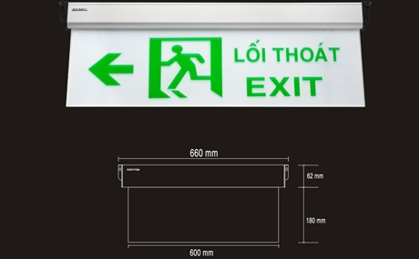 Đèn Exit KenTom KT-660