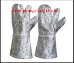 Găng tay chông cháy Nomex tráng bạc