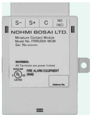 Module địa chỉ cho nút nhấn báo cháy Nohmi FRRU004 MCM