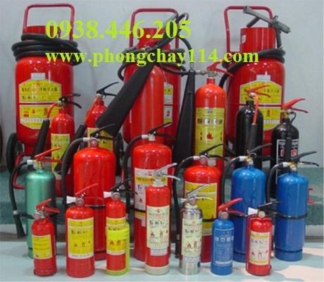 Nạp bình chữa cháy tại quận 7