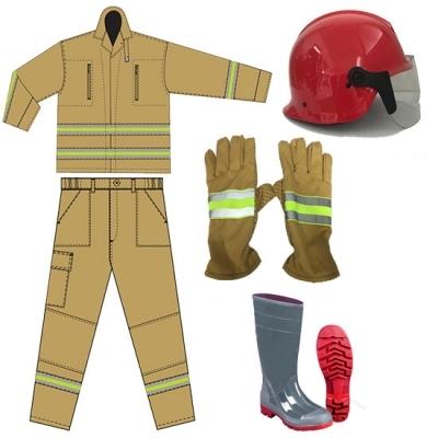 Quần áo chữa cháy theo thông tư 48 có tem kiểm định