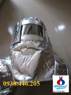 BỘ QUẦN ÁO CHỐNG CHÁY TRÁNG NHÔM 500 °C (CHINA)