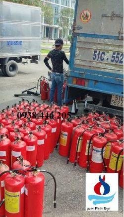 Bán bình chữa cháy tại Nghệ An - Nạp bình chữa cháy tỉnh Nghệ An
