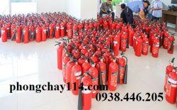 Bán bình chữa cháy tại Tiền Giang - Nạp bình chữa cháy tỉnh Tiền Giang