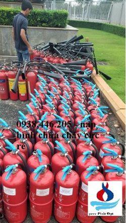 Bán bình chữa cháy tại Trà Vinh - Nạp bình chữa cháy tỉnh Trà Vinh