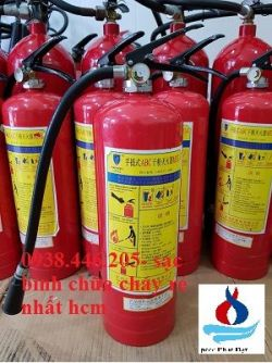 Bán bình chữa cháy tại Vĩnh Long - Nạp bình chữa cháy tỉnh Vĩnh Long