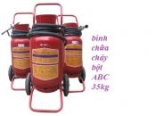 Bình bột chữa cháy xe đẩy ABC 35kg MFZ35