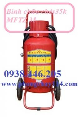Bình chữa cháy xe đẩy BC MFTZ35 - 35kg