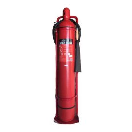 Bình chữa cháy xe đẩy Dragon khí co2 mtt24 24kg