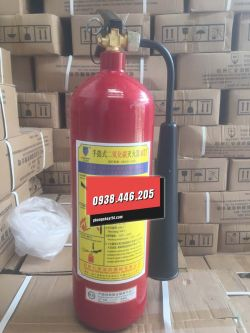 Bình khí chữa cháy xách tay theo thông tư 150