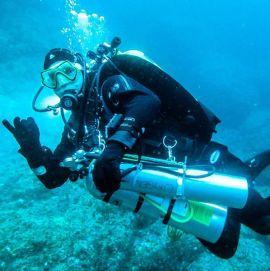 Bình oxy cho thợ lặn, bình lặn oxy