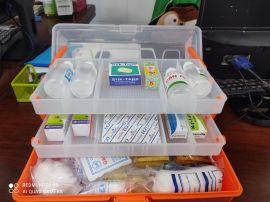 Bộ sơ cứu hộp First aid kit 3 tầng