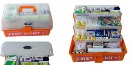 Bộ sơ cứu hộp First aid kit 4 tầng