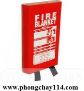 Chăn dập lửa hộp treo tường PVC đỏ