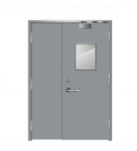 Cửa thép chống cháy dạng cửa đôi TD 301
