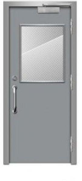 Cửa thép chống cháy dạng đơn TD 107