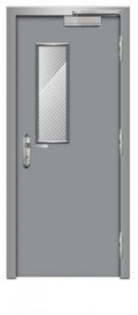 Cửa thép chống cháy dạng đơn TD 108
