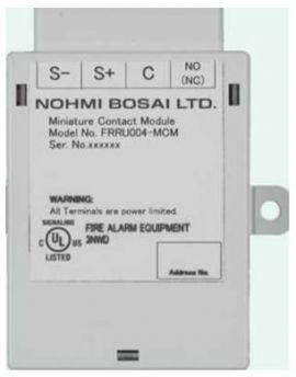 Đầu báo nhiệt gia tăng và cố định địa chỉ Nohmi FDHU002 RHA
