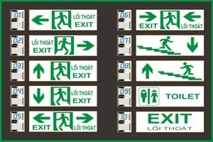 Đèn Exit- Đèn thoát hiểm