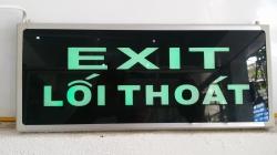 Đèn exit KENTOM 2 mặt không chỉ hướng