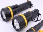 Đèn pin ánh chuyên dụng sáng vàng PCCC chống nước IPX4