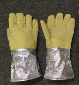 Găng tay chống cháy tráng nhôm 1000 độ C