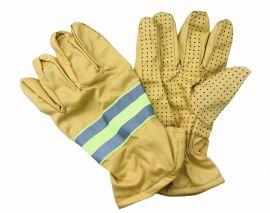 Găng tay chữa cháy thông tư 48 màu vàng gừng