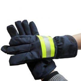 Găng tay chữa cháy xanh đen