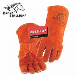 Găng tay da hàn Black Stallion 112L