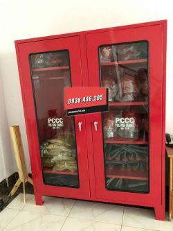 Gia công tủ đựng đồ PCCC, tủ đựng dụng cụ chữa cháy PCCC theo yêu cầu