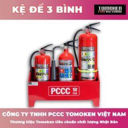 Kệ để 3 bình chữa cháy Tomoken TMK-K3B