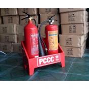 Kệ đôi đựng bình PCCC phòng cháy chữa cháy