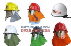 Mũ chống cháy hàn quốc có đèn đỏ