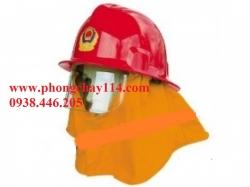 Mũ chống cháy thường màu đỏ