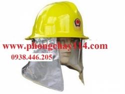 Mũ chống cháy thường màu vàng