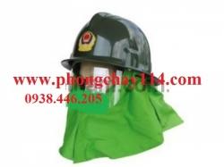 Mũ chống cháy thường màu xanh
