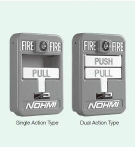 Nút nhấn báo cháy bằng tay Nohmi FMM01U SERIES