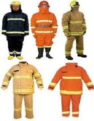 Quần áo chống cháy Nomex 2 lớp màu cam