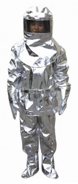 Quần áo chống cháy tráng nhôm 1000 độ C