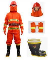 Quần áo chống cháy TT56 CHINA màu cam